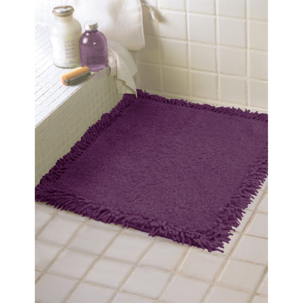 Plum Bath Mat Bathroom Decor Pinterest - Plum bath mat for bathroom decorating ideas