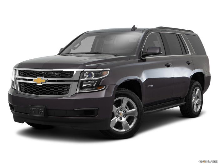 2016 Chevrolet Tahoe Front Angle Medium View Chevrolet