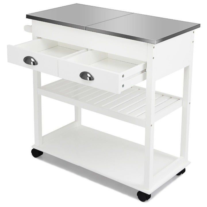 Rolling Kitchen Island Trolley Cart Mercari Rolling Kitchen Island Kitchen Cart Kitchen Island Trolley Stainless steel cart with drawer