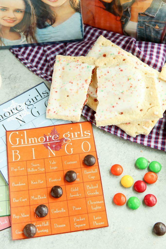 Free Printable Gilmore Girls Bingo Cards Bingo cards