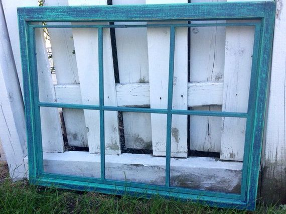 4 Pane Window Frame Rustic Window Frame Salvaged Antique Window Eight Pane Window Frame Window Frame Picture Old Window Frame Rustic Window Frame