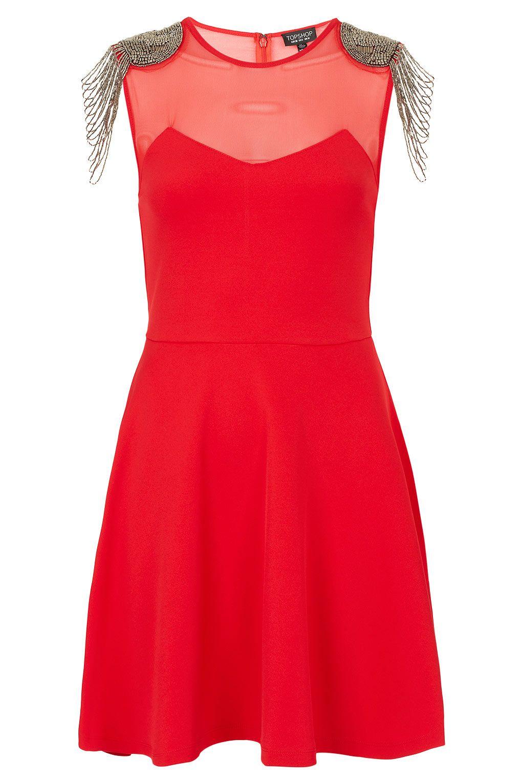 Topshop red dress clothes i canut afford pinterest topshop