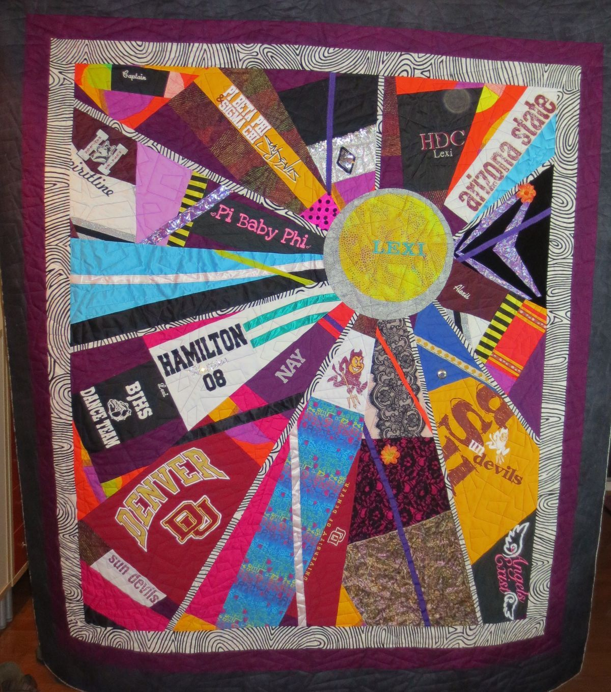 how to make a tshirt quilt easy