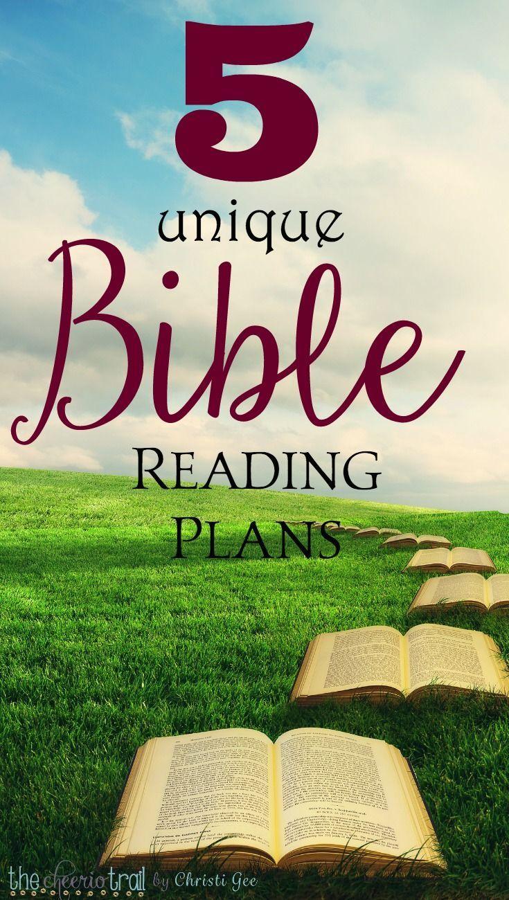 5 unique Bible Reading Plans you must check out ...