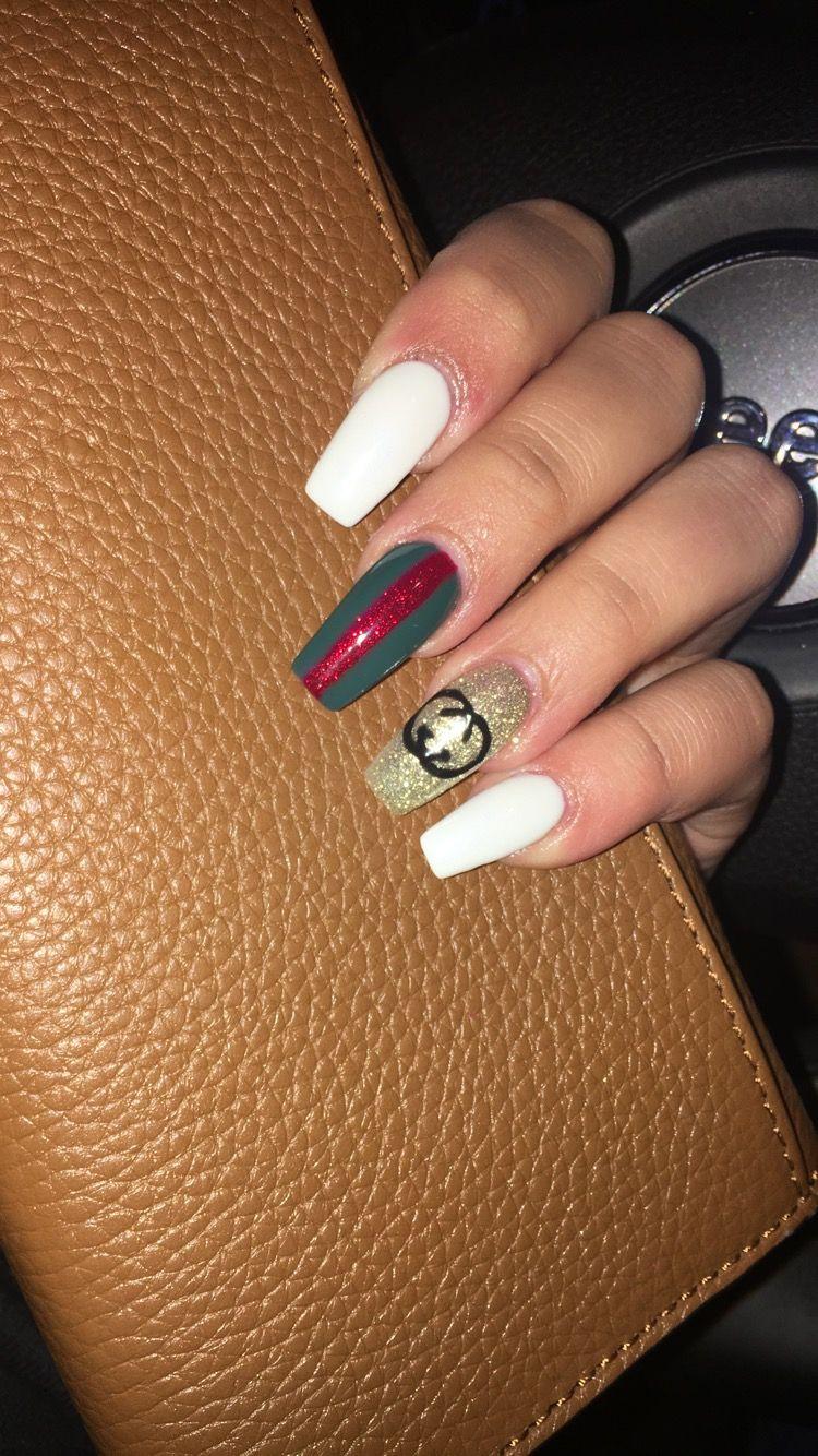 Gucci nails \u200d♀️