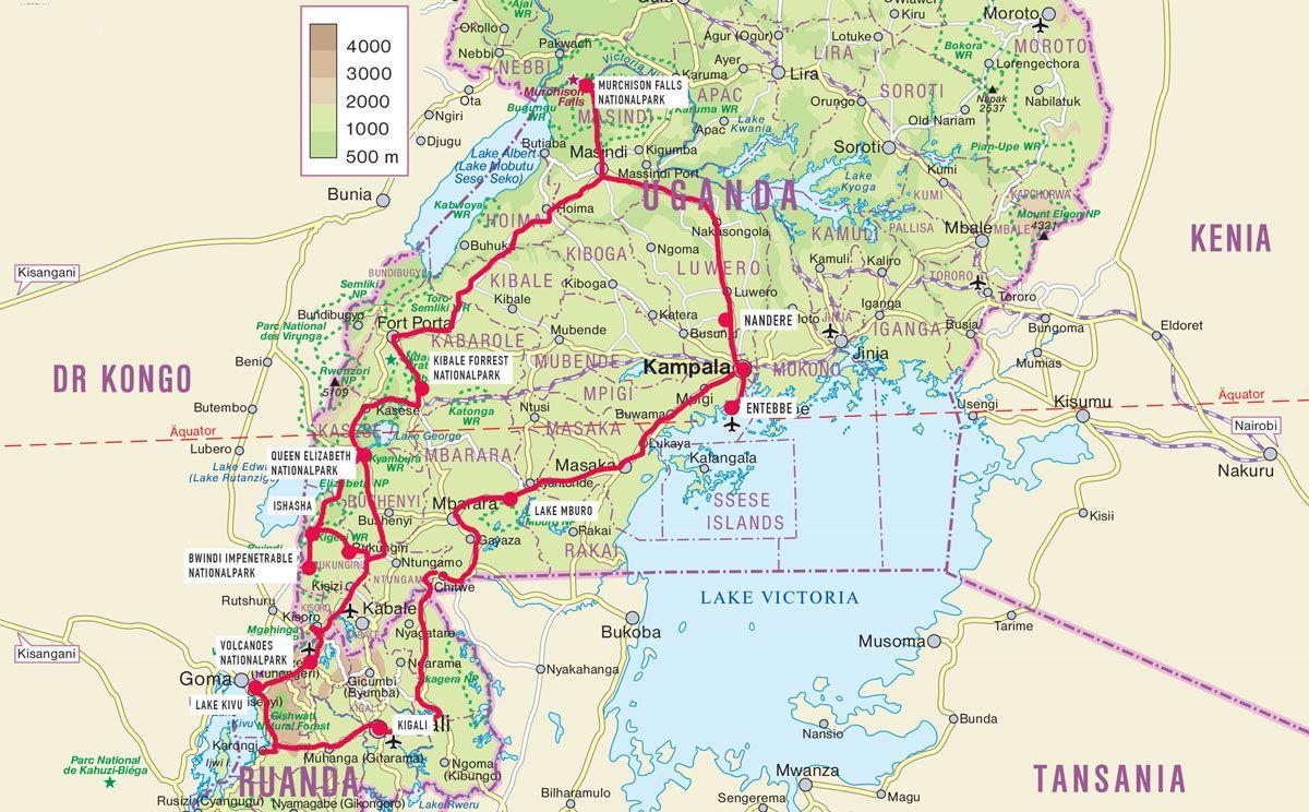 Reisetipps Uganda Und Ruanda Individuell Reisebericht Afrika Reisen Uganda
