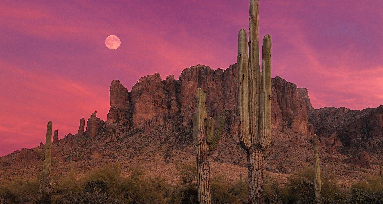 Beautiful Arizona Wallpaper Phoenix Sunset Wallpaper Hd
