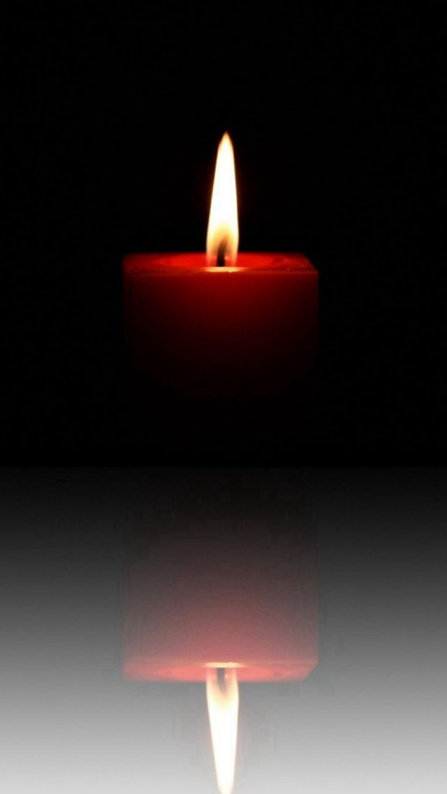 Candle Flame Image Reflection Dark Iphone 5s Wallpaper Candles Candle Flames Candles Wallpaper