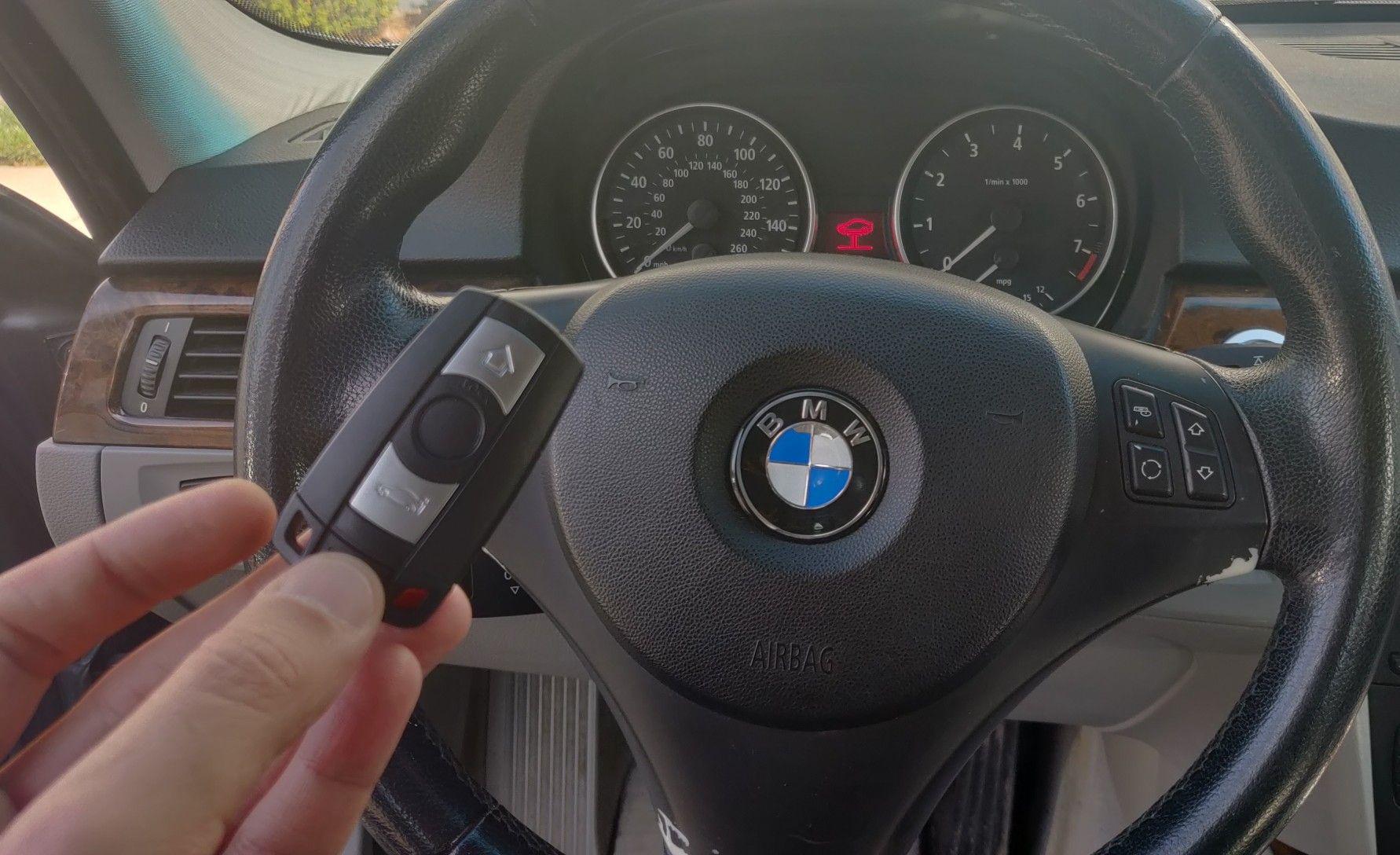 BMW lost car key replacement smart key programming Car
