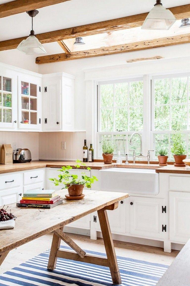 extravagant beach cottage kitchen design and decorating