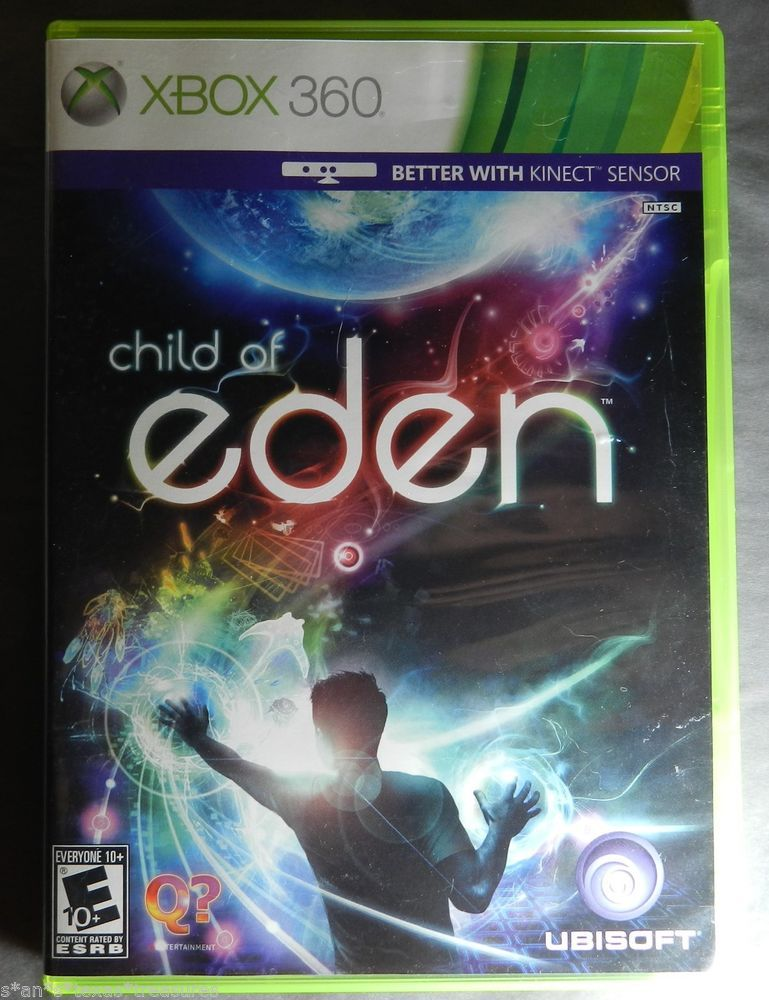 Child Of Eden PS 2 game with case and manual