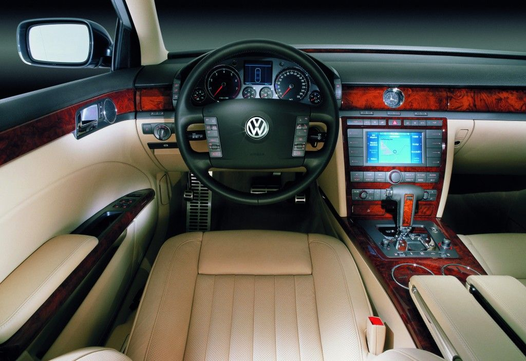 Phaeton Interior Volkswagen Phaeton Volkswagen Big Car