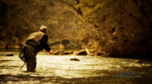 Fly Fisherman II by Ken Gehle (c) Ken Gehle - all rights reserved www.kengehle.com