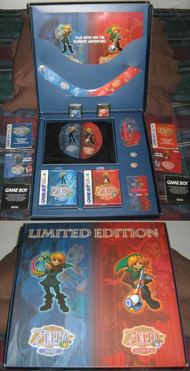 Zelda oracle series