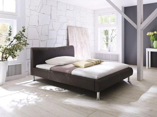 Polsterbett River u2022u2022 mit Kunstlederbezug - 200x140 cm - schlafzimmer mit polsterbett