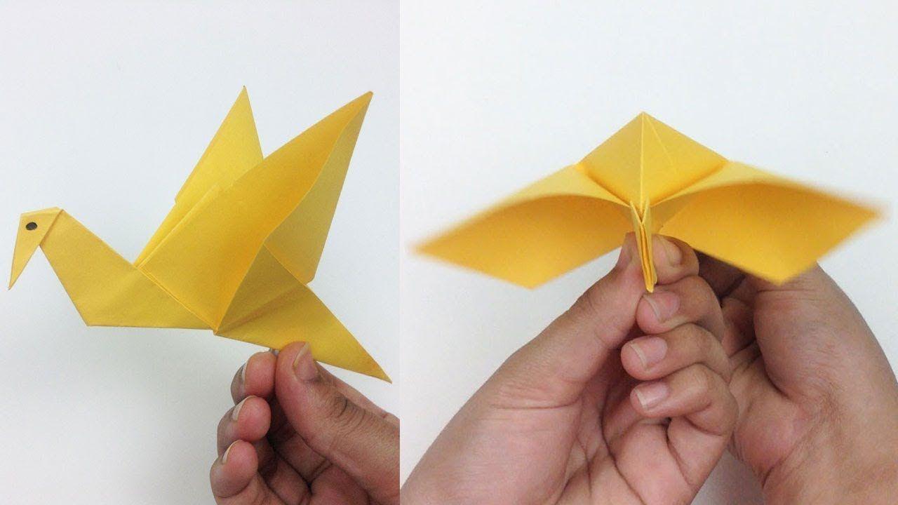 Origami - Flapping Bird   Origami flapping bird, Flapping bird ...   720x1280
