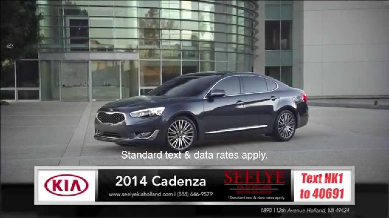 2014 Kia Cadenza Exterior Review near Grand Rapids, Michigan #icarvideo