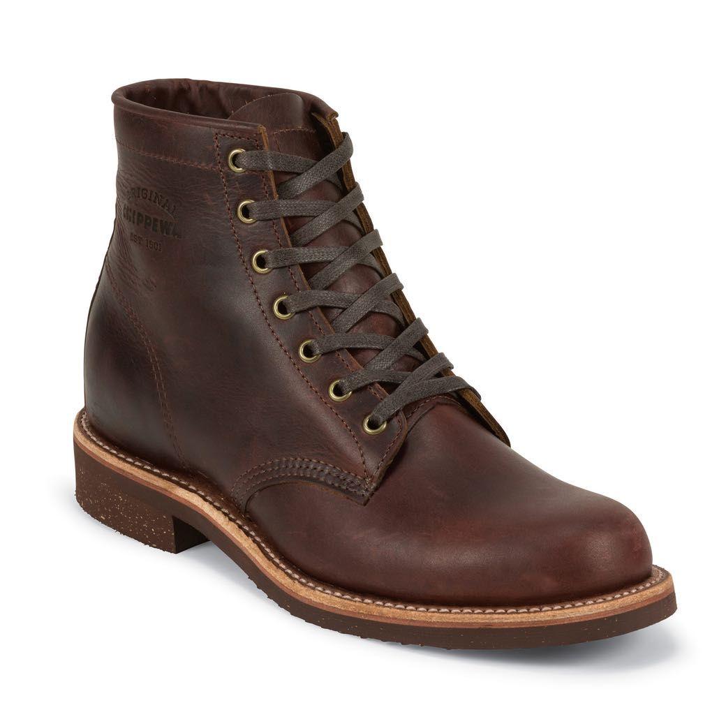 chippewa service boot black
