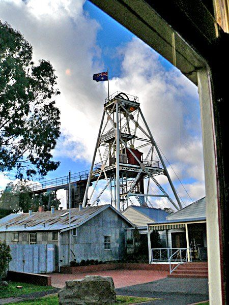 Historical Architecture in Eaglehawk and Bendigo Gold mine