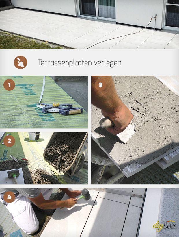 Pin Von Diybook Auf Selbermachen Bauen Renovieren Terrassenplatten Terrasse Renovieren