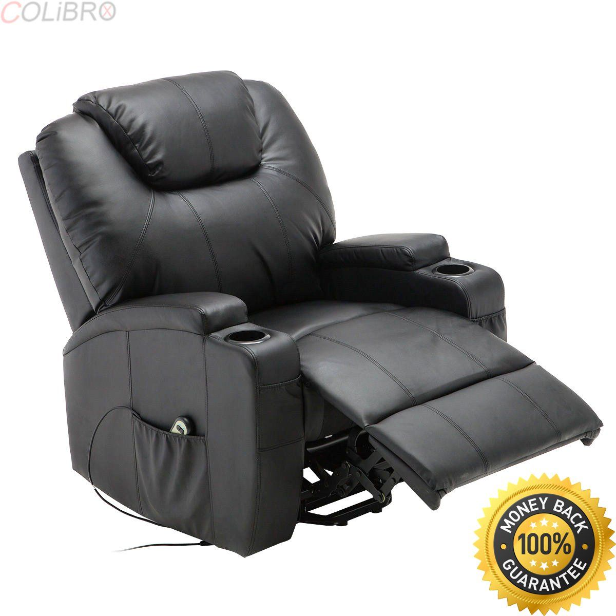 COLIBROXElectric Lift Power Recliner Chair Heated Massage