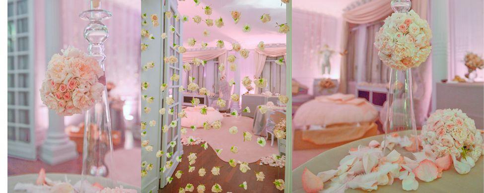 Mariage De Luxe, Fleuriste Haut De Gamme, Décoration Florale .