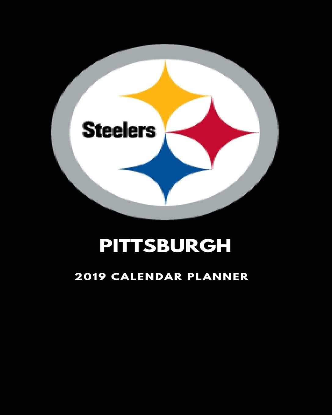 Pittsburgh Steelers 2019 Calendar Planner David Jones is