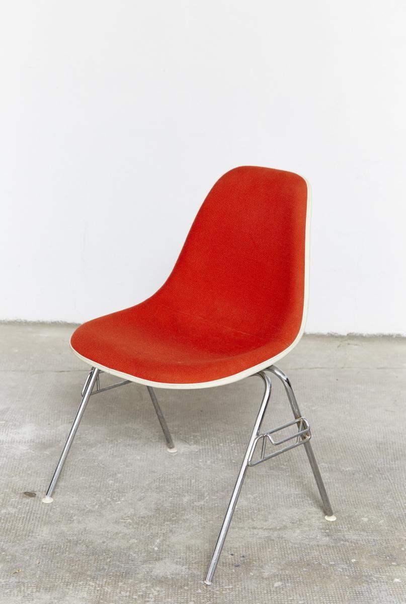Vintage Dss Stuhl von Charles & Ray Eames für Herman