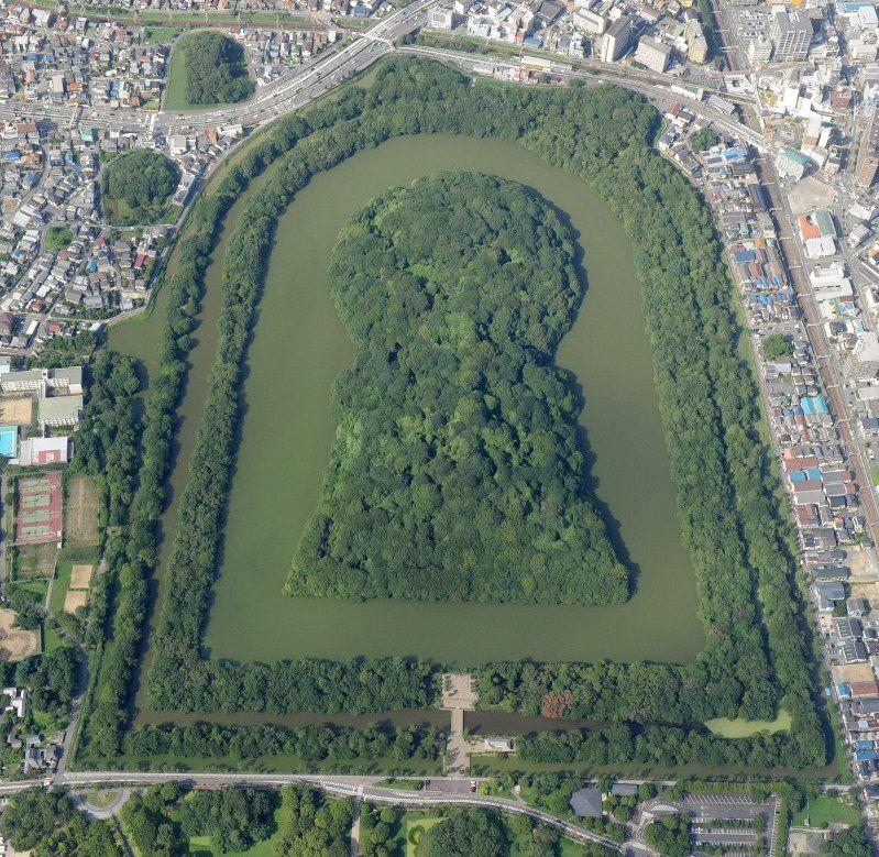 宮内庁 仁徳天皇陵を発掘へ 今月下旬から堺市と共同で 日本の景色 古代の遺物 古墳
