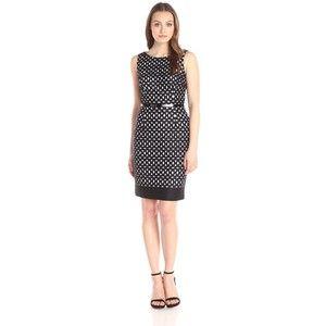 Calvin Klein Women's Lasercut Sheath Dress