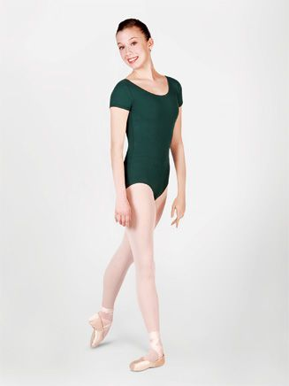 fc2e1bbb42 Capezio Short Sleeve Leotard. I have this in Hunter Green and Garnet. A  wonderful basic bodysuit.