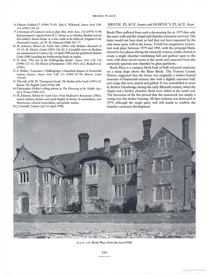 Greater Medieval Houses of England and Wales, 1300-1500: Volume 3, Southern ... - Anthony Emery - Google Books