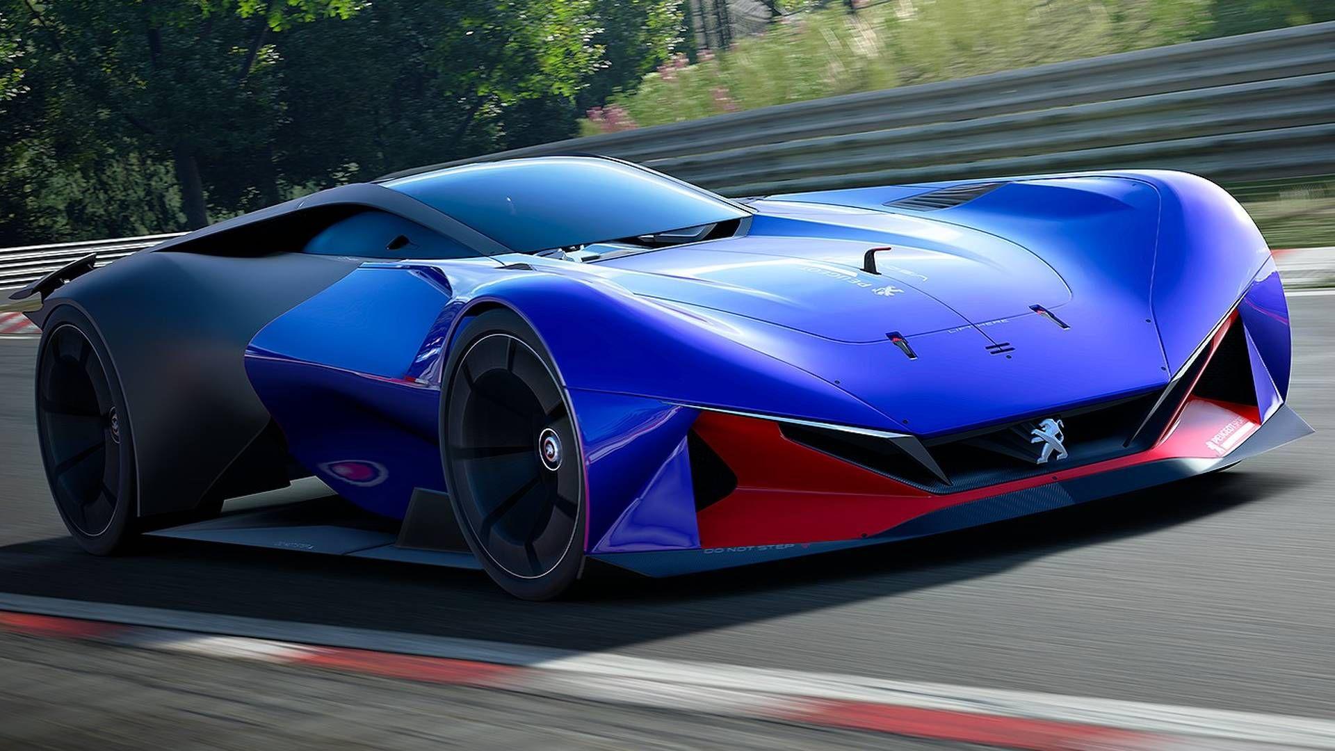 Peugeot L750 R Hybrid Revs To 10 000 Rpm In Gran Turismo Sport