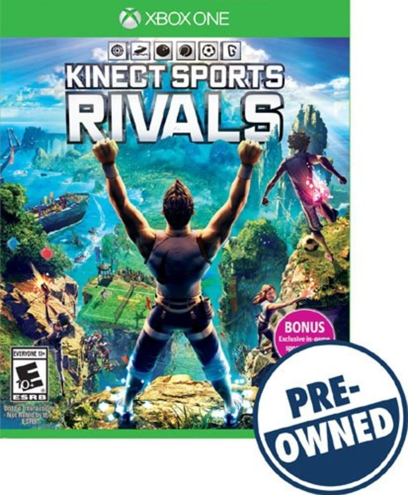 Kinect Sports Rivals PREOwned Xbox One Kinect, Xbox