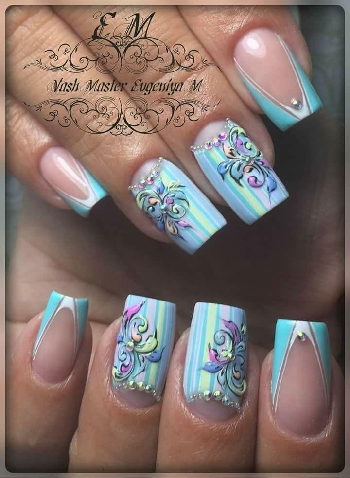 Evgeniya M | Nail Designs Acrylic | Pinterest