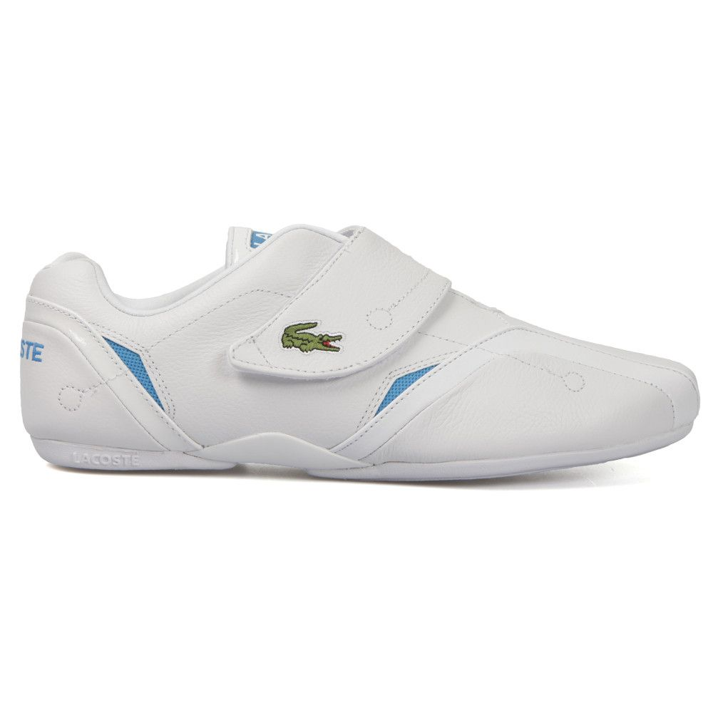 LACOSTE PROTECT AUR SPM TRAINERS FOR MEN IN WHITE/BLUE - Lacoste Trainers -  MelMorgan