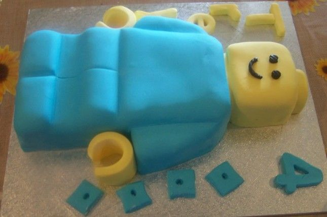 20 Pans that Take the Cake | Lego minifigure, Cake mold and Man cake