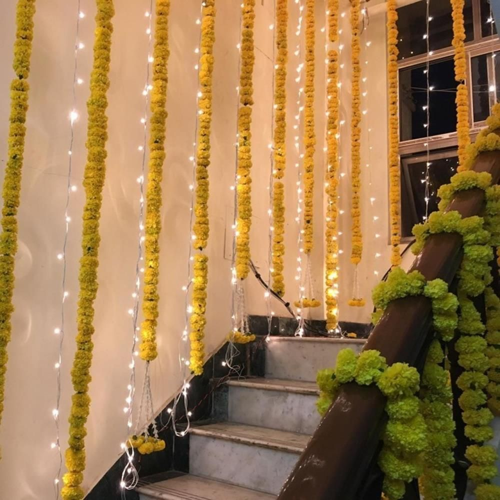 Decoration Ideas For Wedding At Home 58 Fashion And Wedding Home Wedding Wedding Entrance Decor Diwali Decorations At Home