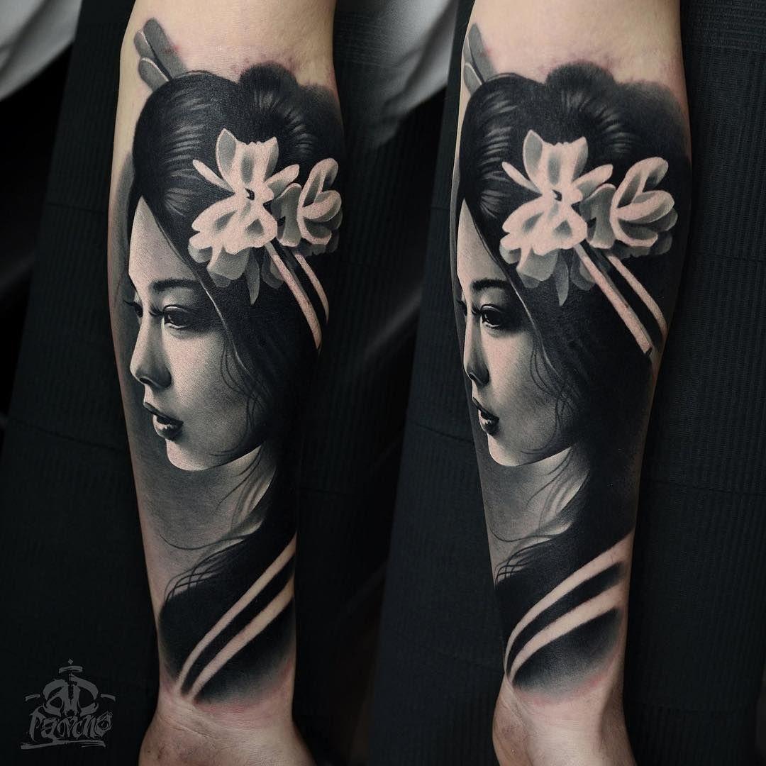 Image Result For Trash Polka Arm Tattoo Designs Geisha Tattoo Geisha Tattoo Design Japanese Tattoo