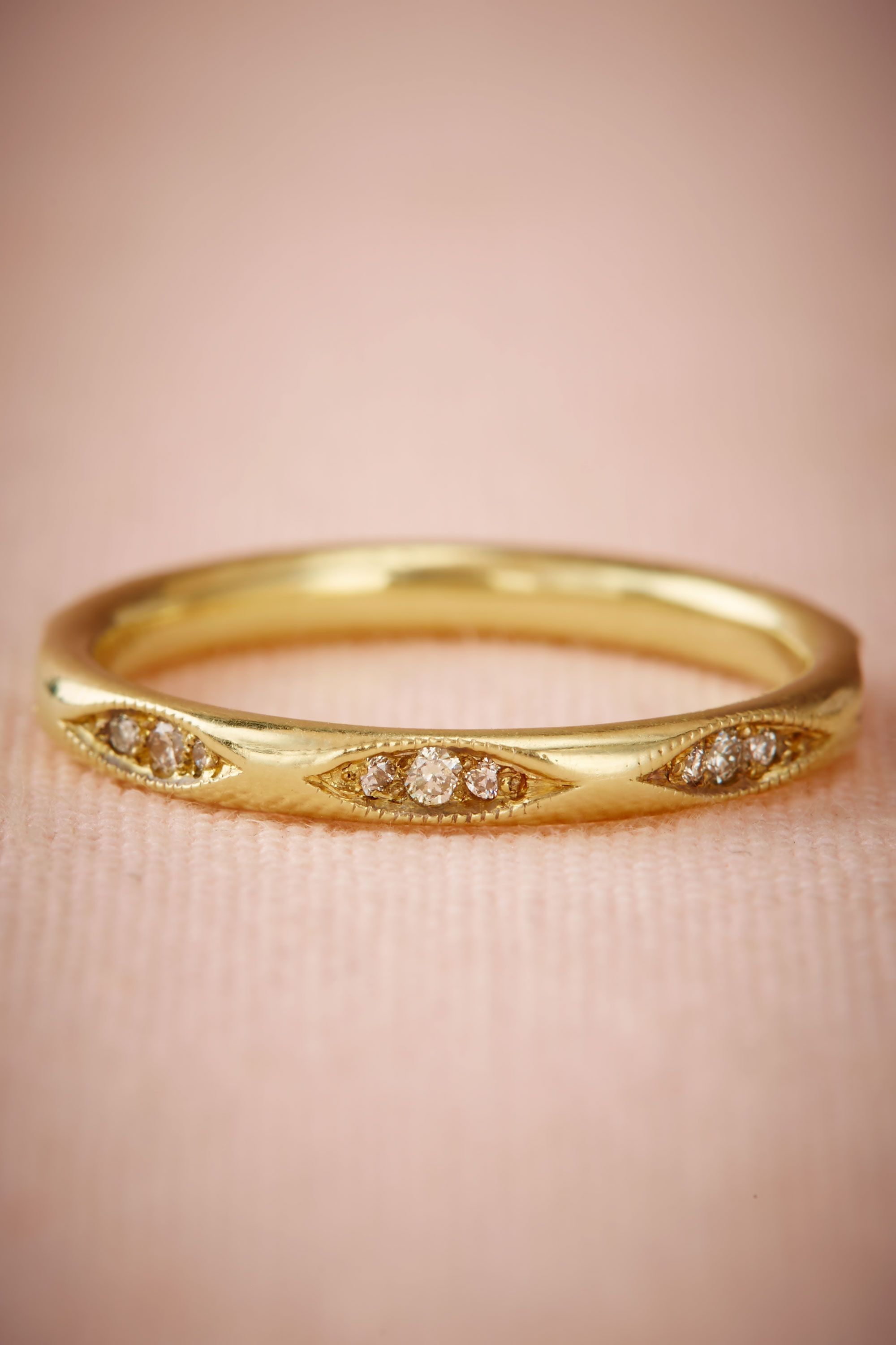 BHLDN\'s Ila Flannery Ring in Yellow Gold | Ring, Wedding stuff and ...
