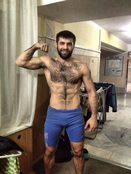 Wrestling Hairy 54