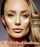 Tips to get well-defined cheekbones with makeup