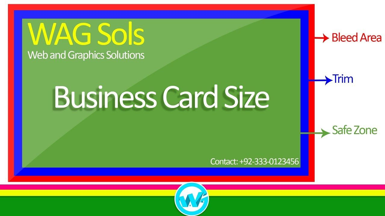 Photoshop Business Card Template With Bleeds In 2020 Business