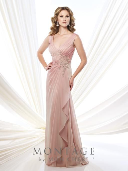 Montage 215907 Beaded Surplus Chiffon Gown | Pinterest | Trajes ...