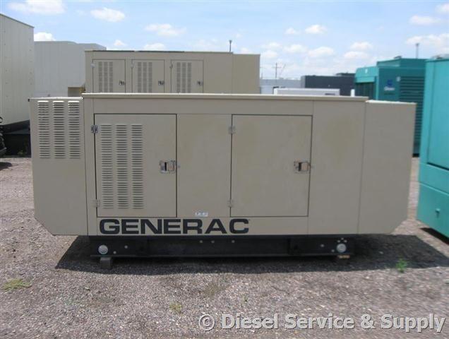 Generac 50 Kw Naturalgasgenerator 240 Volt With Sound Attenuated