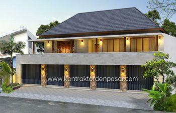 desain villa luas 250 m2 tabanan bpk wira kusuma   villa