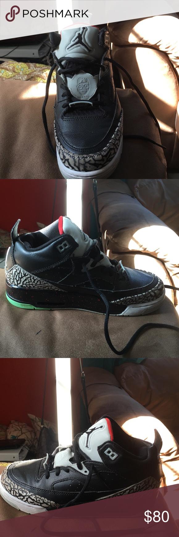 Fashion Nike Air Jordan 5 Retro Black Metallic Silver 440888-010