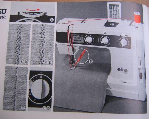 Instuctions Manual Elna SU Air Electronic 40 Sewing Machine Elna Beauteous Elna Air Electronic Tsp Sewing Machine Manual