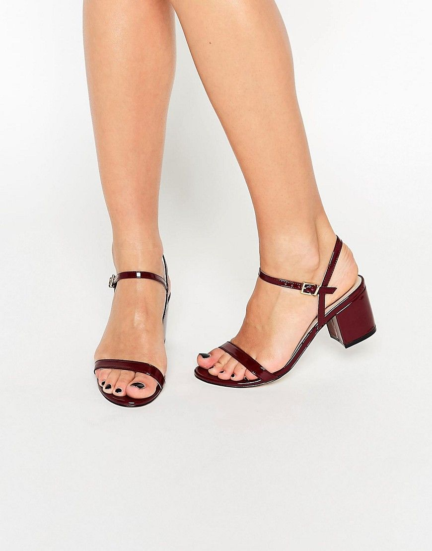 76d7ff41de8 Image 1 of ASOS HONEYCOMB Heeled Sandals