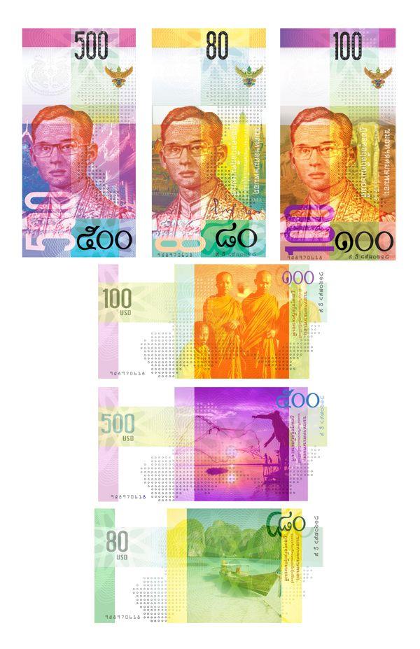 New Thai Baht Behane Alexandra Frame Hasty Currency Design